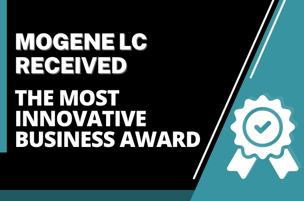 MOgene LC received the Most Innovative Business Award